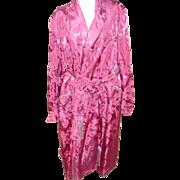 1940's Duck Brocade Robe