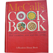 McCalls 1963 First Printing Red Cookbook