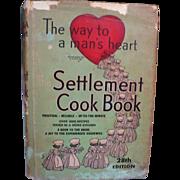 1947 Settlement Cookbook