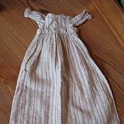 Vintage Empire Waist Doll Dress