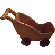 Vintage Cast Iron Kilgore Doll Stroller