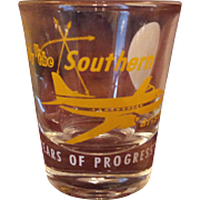 Vintage Southern Airways Shot Glasses Years 13 & 14
