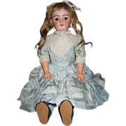 SALE Pretty Simon & Halbig Blonde Hair Doll
