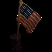 Vintage 48 Star Parade Flag