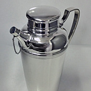 SOLD Tiffany Art Deco Sterling Silver Cocktail Shaker C.1920