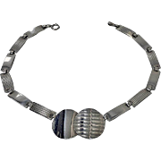 Theodor Fahrner Art Deco Sterling Necklace, C.1930