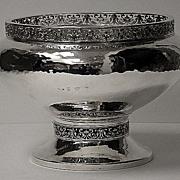 SALE A.E.Jones Arts and Crafts Silver Bowl, Birmingham 1920
