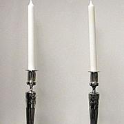 SALE Orivit silver plate Candlesticks, Germany C.1900