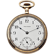 American Waltham GF Pocket Watch, circa 1902