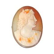 Shell Cameo - Diana - Early 19th Century