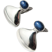 Georg Jensen #79 Large Sterling Cufflinks - Post 1945