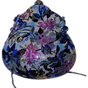 Judith Leiber Swarovski Crystal Evening Bag, Circa 1980