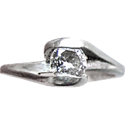 .27 Carat Diamond Solitaire Engagement Ring - 14K