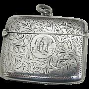 19th Century English Vesta Case - Sterling