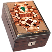 Pietra Dura Watch Stand/Holder/Box/Display Case