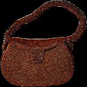 JOSEF - Belgian Copper Micro Bead Box Purse