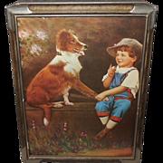 R. Atkinson Fox Pseudonym DeForest - Speak Rover - Boy with Dog