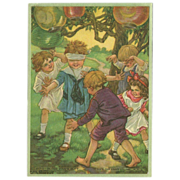 Petite Calendar Print by Clara Burd - Blind Man's Bluff
