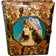 Celluloid Photo Album with Gypsy Lady