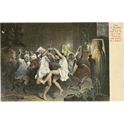 Tam O' Shanter Postcard of Dancing - 1 of 2