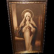 C. Bosseron Chambers Madonna of the Sacred Coat