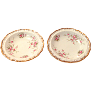 Paragon Bone China circa 1980 'Victoriana Rose' Coasters - Set of Two