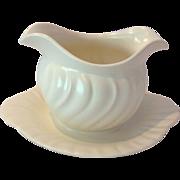 SALE Mid-Century Franciscan Pottery Coronado Off-White Gravy Boat