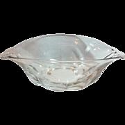 Duncan & Miller Canterbury Elegant Glass Crystal Bowl