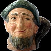 Royal Doulton Auld Mac Bang Went Saxpence Large Character Jug