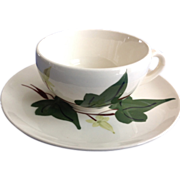 Blue Ridge Southern Potteries Baltic Ivy Cup and Saucer