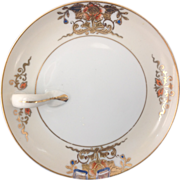 REDUCED Noritake Gold Trimmed One-Handled Lemon Plate