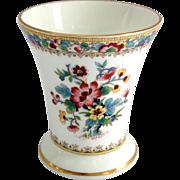 Coalport Bone China Ming Rose Miniature Vase