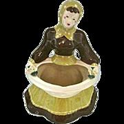 REDUCED Kim Ward 1940s California Pottery Baby  Carmen Vase