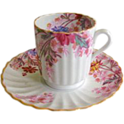 REDUCED Copeland Spode Chelsea Gardens Demitasse Cup and Saucer
