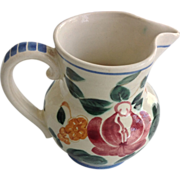 SALE Red Wing Orleans Provincial Flowered Creamer