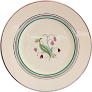 Syracuse China Coralbel Platinum Trim Bread and Butter Plate