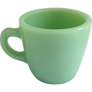 Fire King Restaurant Ware Heavy Jadeite 6 ounce cup G215