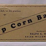 Pop Corn Bars Candy Box by Hobbs