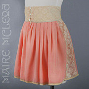 SALE Handmade Silk Tap Pants Panties FABULOUS 20s - 30s *Lace Trim *Lgr Size