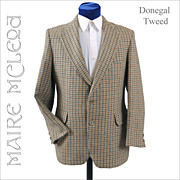 SALE Vintage Donegal Tweed Men's Sport Coat Jacket Magee, Moriartys  - 38-39S