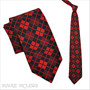 1970's Wembley Argyle Men's Tie 4""