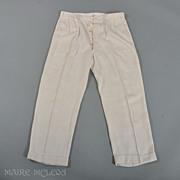 SALE 1920's Pants // Gatsby Era Mens Linen Pants  - B. Altman, NY & Paris