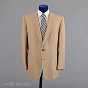 SALE 1980's Sport Coat // Christian Dior Linen Sport Coat Jacket  42-43 L
