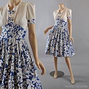 SALE 1940's Dress // Vintage Carole King Dress - XS