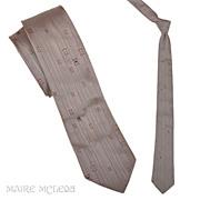 "SALE Elegant Mens 1950's Silk Tie - Changeable Weave 2-1/2"""