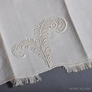 """SALE Marghab """"Plume"""" Vintage Fingertip Towel NOS - 1 of 4"""