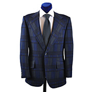 SOLD Vintage 70s Mod Plaid Sport Coat Jacket  40-41
