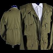1951 Mens Field Jacket - Korean War Era  M / L