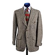 Vintage Tweed Sport Coat / Sport Back / Western details  - 42L