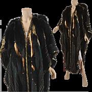 REDUCED Vintage Designer Kip Kirkendall 1980s Artwear Cloak Coat Cape